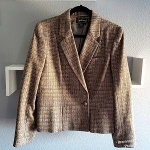 Vintage Single Breasted Miss Gallery Wool Blazer